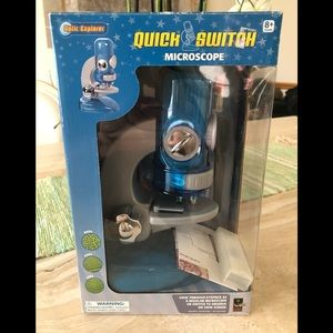 New in box, Optic Explorer Quick Switch Microscope
